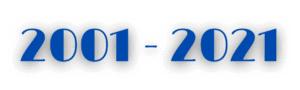 2001 - 2021